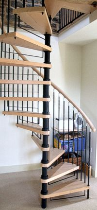 grandborough hybrid spiral staircase