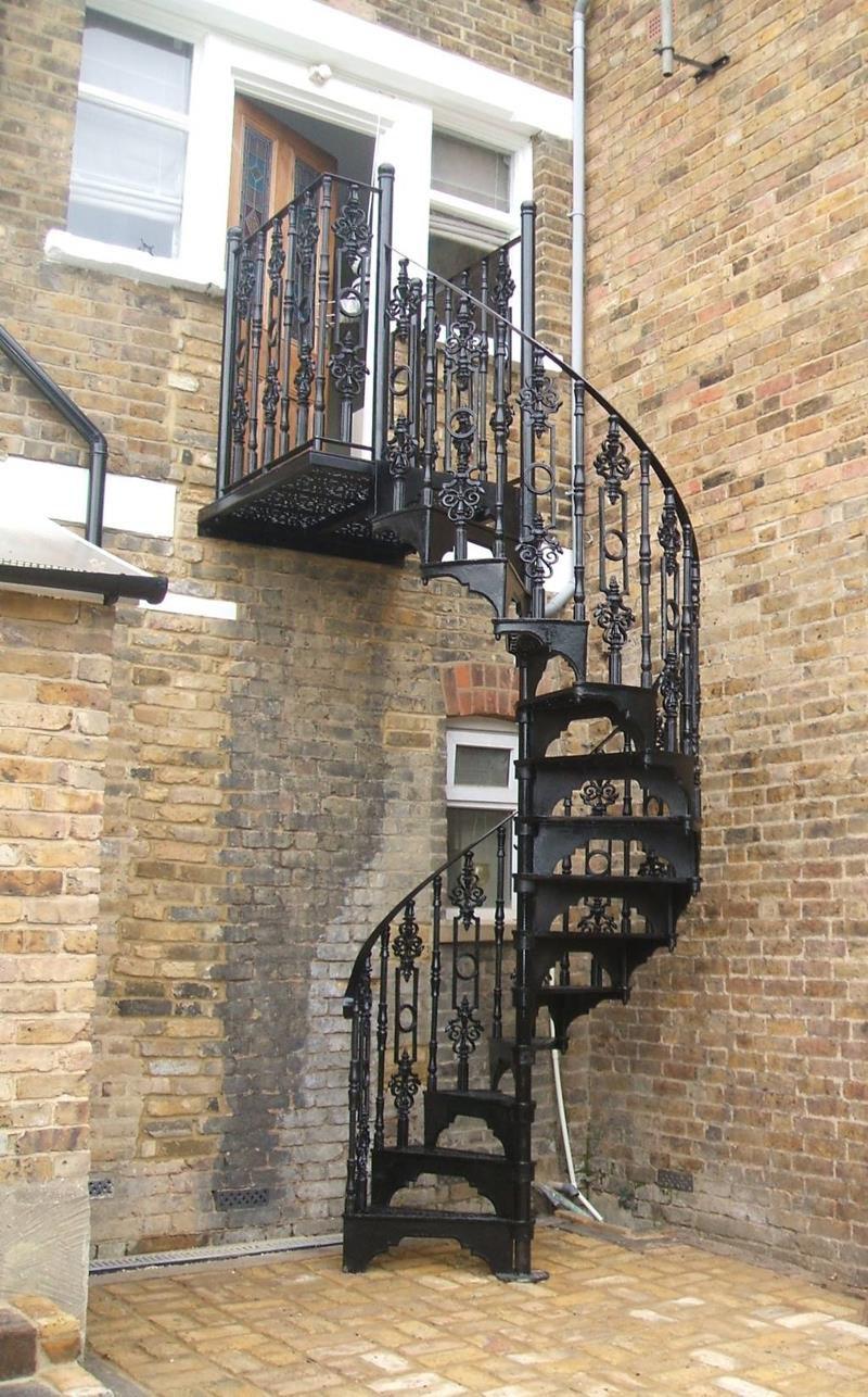 Victorian Spiral Staircase Charlcote 1