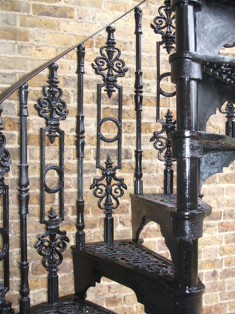 Cast Iron Charlcote Spiral Staircase Elite Spiral Staircases