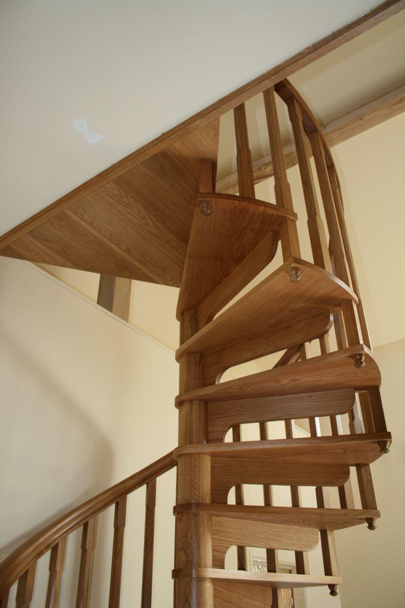 Warwickshire Wooden Spiral Staircase 5