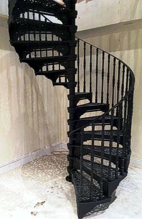 1830mm diameter large Victorian Spiral Stair Installation
