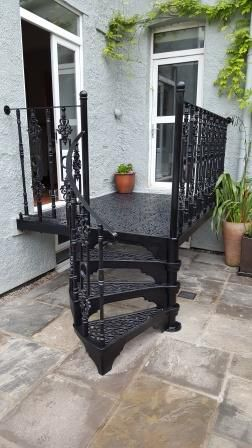 Cast Iron Balcony 1830mm diameter Victorian