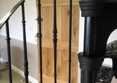 Victorian with Regency balusters