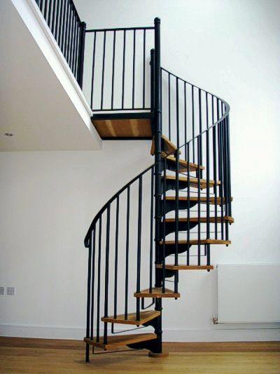 Stratford Steel & Timber Spiral Staircase