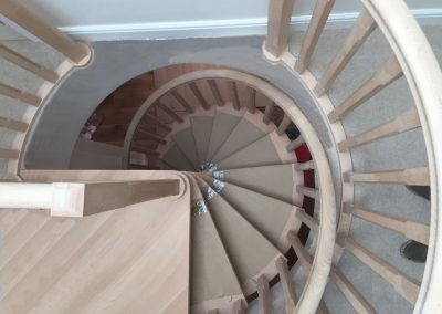 Warwickshire hard wood stair to loft