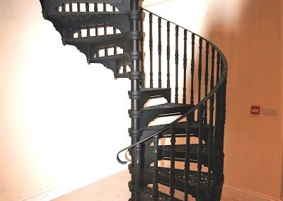 cast iron stair access to loft